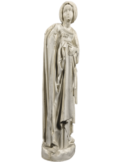 Statue de Pleurant, jeune courtisane en deuil