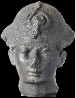 Busto de Amenhotep III, padre de Ajenatón