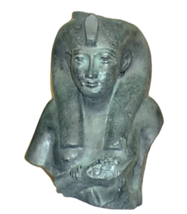 Bust of Chepenoupet II represented in the features of the goddess Isis