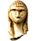 The Lady or Venus of Brassempouy, also known as the Lady with the Hood