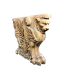 Table base representing a winged lion