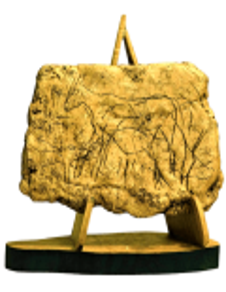 Engraved deer - cave of Pergouset