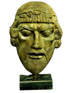 Máscara de Dionisio
