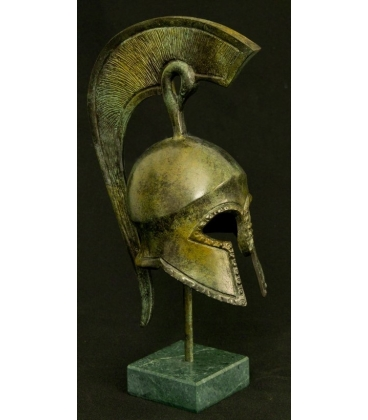 Ancient Greek Helmet in bronze