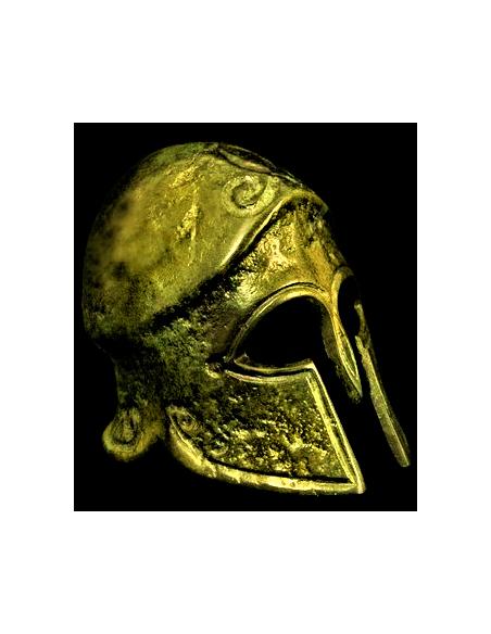 Ancient Corinthian Helmet in bronze