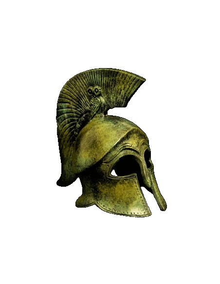 Yelmo antiguo corintio de bronce