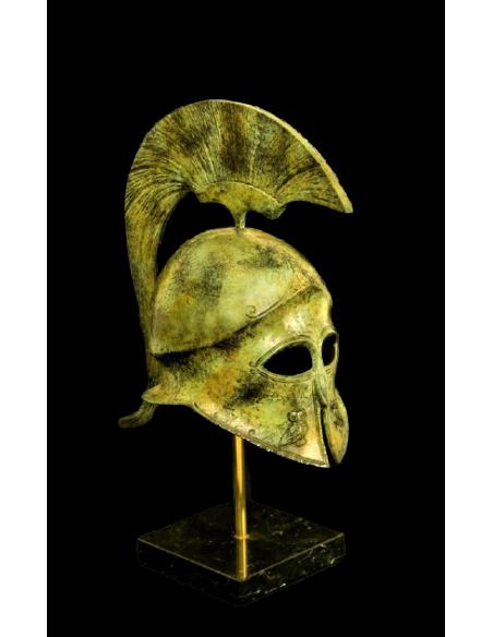 Yelmo ateniense en bronce