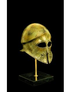 Casque d'hoplite athénien en bronze