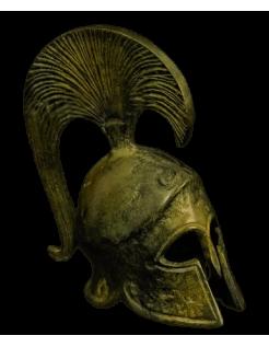 Yelmo espartano en bronce inspirado de la Grecia antigua