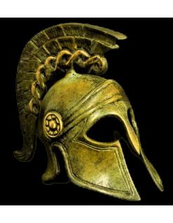 Yelmo espartano en bronce