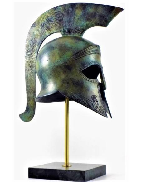 Grand casque corinthien en bronze