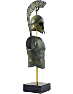 Armadura espartana de la Grecia antigua