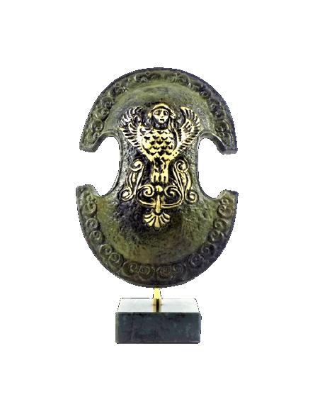 Bouclier béotien en bronze (avec Harpie)