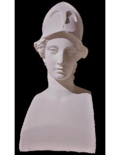 Busto de Miverna con casco, también llamada Atenea