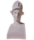 Bust of Miverna with helmet, also called Athena