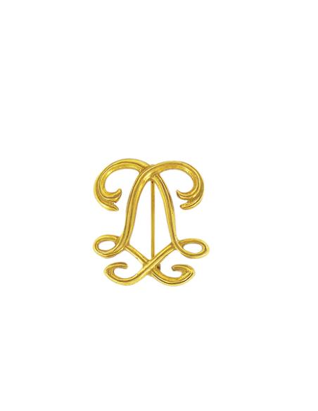 Broche Monograma Luis XIV