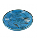 Small dish with fish design