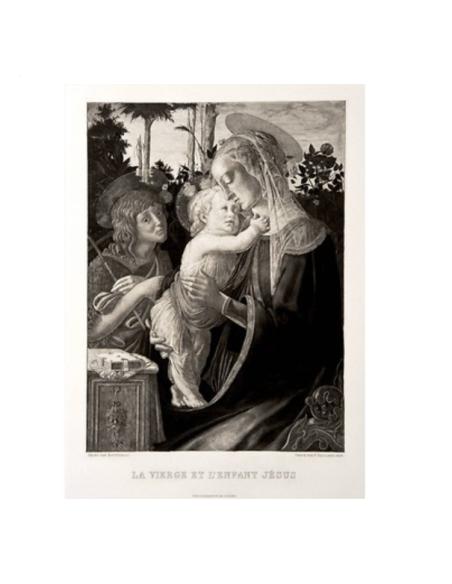 La Vierge, l'enfant Jésus et Saint Jean