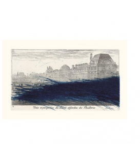 Arnulf Rainer: View and Perspective of the Tuileries Palace and Gardens, 1992