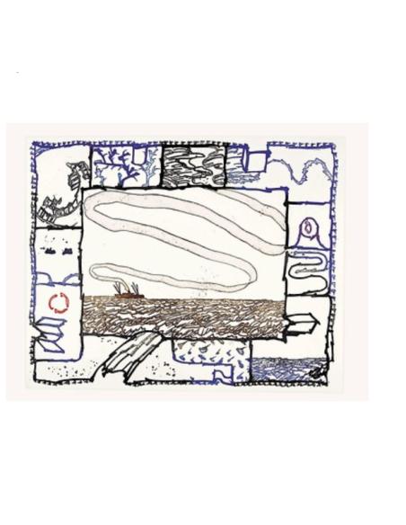 Pierre Alechinsky : Le pinceau voyageur