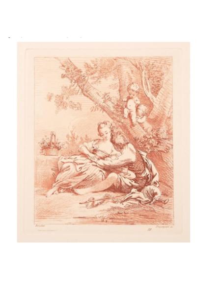 Auguste Péquégnot's engravings