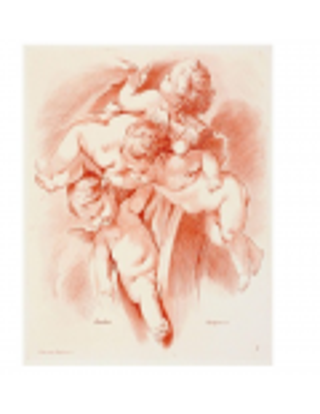 Tres angelitos jugando