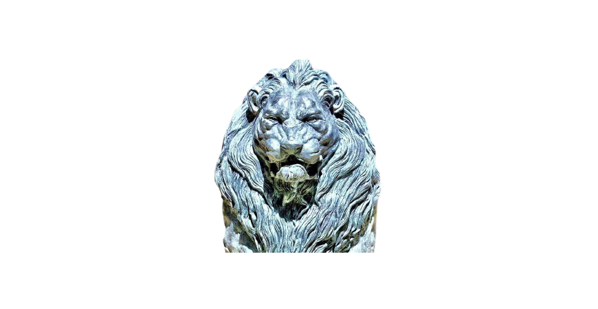 Realization of the Lion Fountain monument